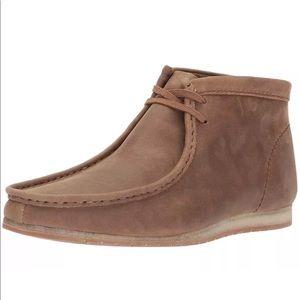 Clarks Men Ankle Boots Wallabee Steep Chukka